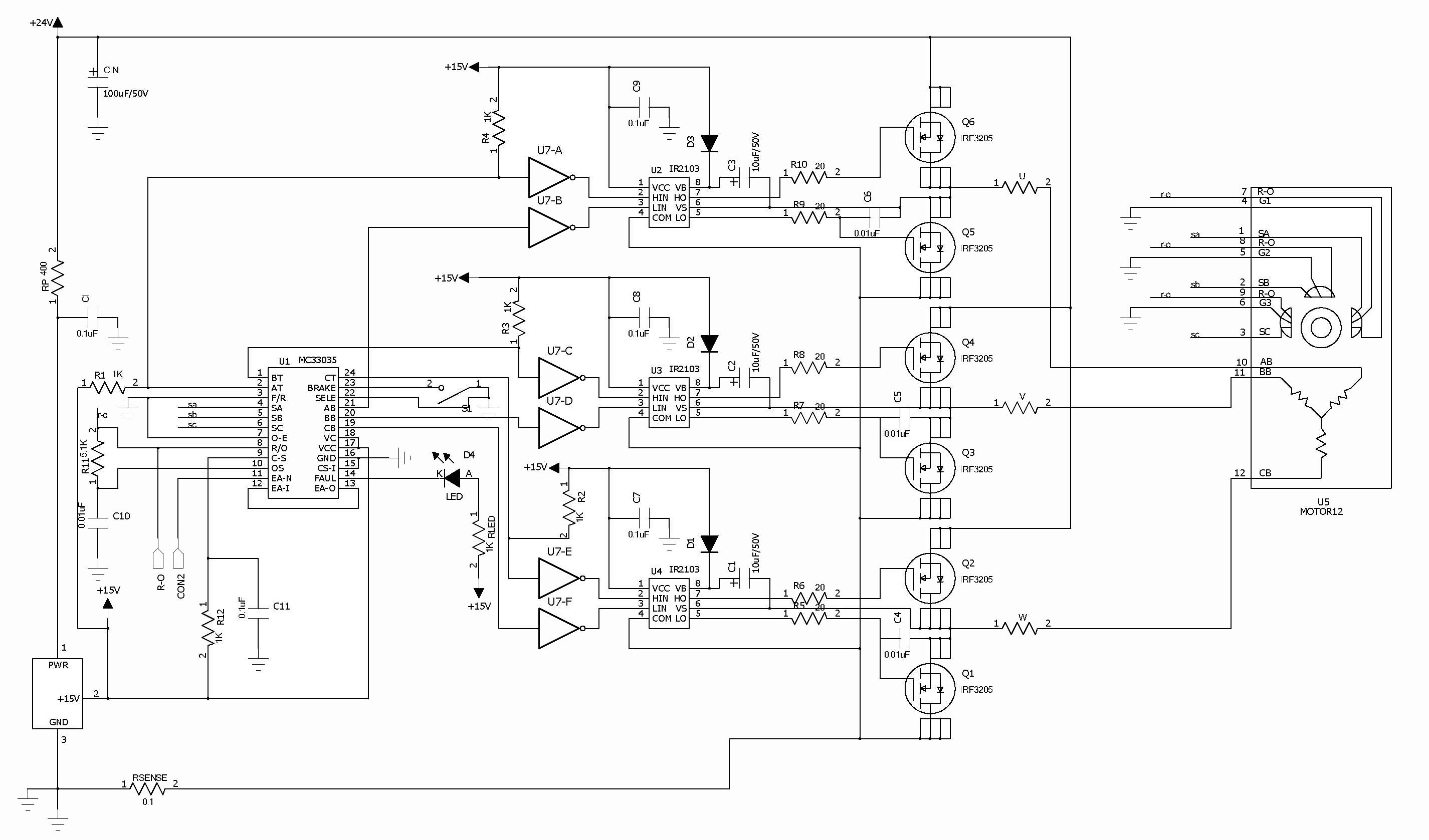 Bldc Controller Circuit Diagram Best Secret Wiring Brushless Motor On Electric Car Schematic Speed